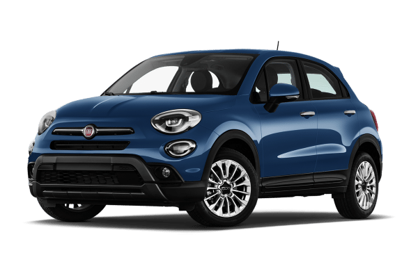 Fiat 500 bleue