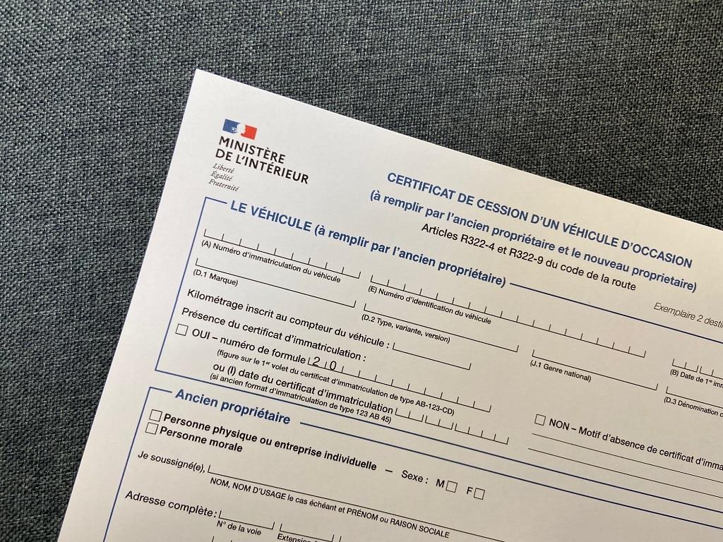 certificat cession cerfa