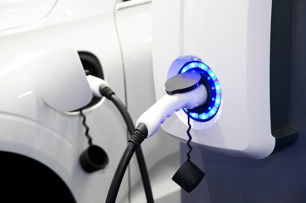 Borne de recharge compteur intégré