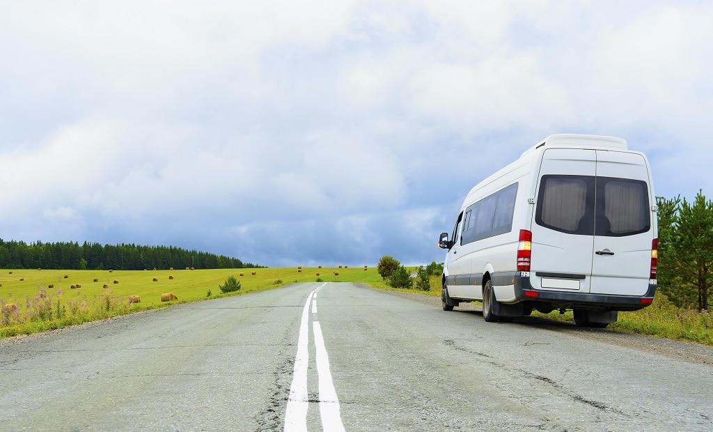 Minibus campagne